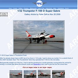 1/32 Trumpeter F-100 D Super Sabre by Peter Doll