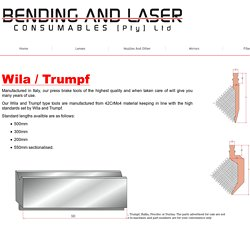 Trumpf Spare Parts-bendingandlaser.co.za