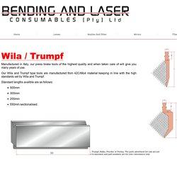 Trumpf Spare Parts-Bendingandlaser