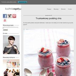 Truskawkowy pudding chia przepis