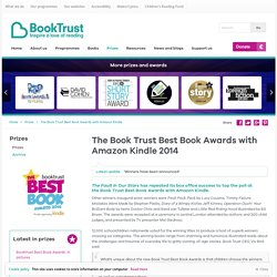 The Book Trust Best Book Awards with Amazon Kindle 2014