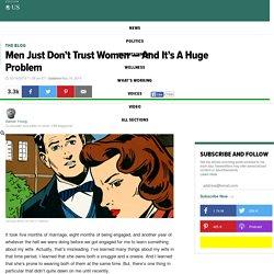 Men Just Don't Trust Women