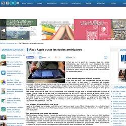 iPad : Apple truste les écoles américaines