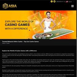Online Casino in Malaysia - H3asia