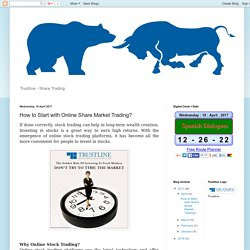 Get Started for Online Share Market Trading With These Simple Tips