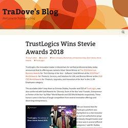 TrustLogics Wins Stevie Awards 2018