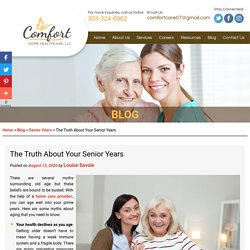 The Truth About Your Senior Years