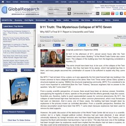 9/11 Truth: The Mysterious Collapse of WTC Seven