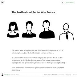 The truth about Series A in France