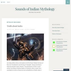 Sounds of Indian Mythology