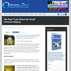 The Real Truth About the Small Universe Qigong