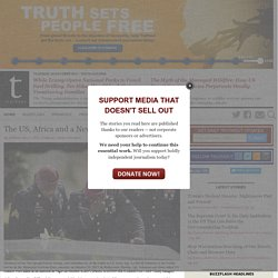 Truthout | Fearless, Independent News and Opinion