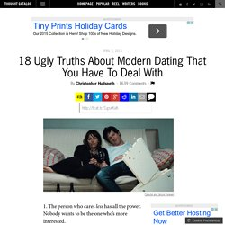 18 Ugly Truths About Modern Dating That You Have To Deal With