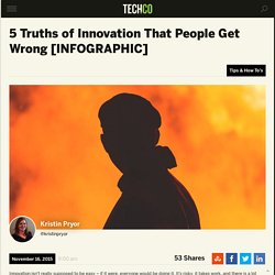 5 Truths of Innovation That People Get Wrong [INFOGRAPHIC]