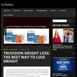 Products Included in TruVision Weight Loss Sample Packs