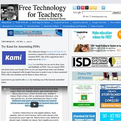 Try Kami for Annotating PDFs