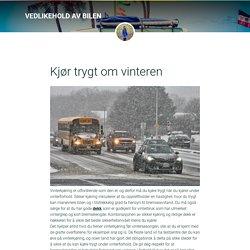 Kjør trygt om vinteren