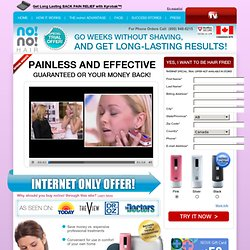 Try No No Hair Removal System – 60 Day Trial – Official Site
