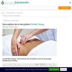 Chi Nei Tsang - Un Massage d'origine Chinoise