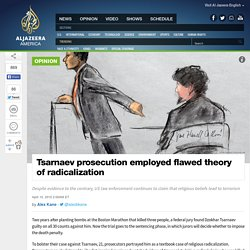 Tsarnaev Prosecution Employed Flawed Theory
