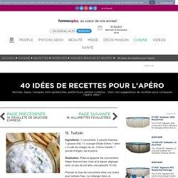15. Tsatsiki : 40 idées de recettes pour l'apéro