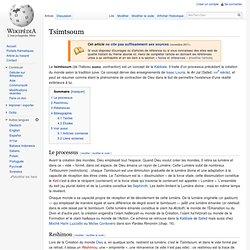Tsimtsoum
