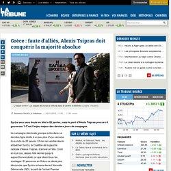 Grèce : faute d'alliés, Alexis Tsipras doit conquérir la majorité absolue