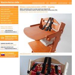 Dětská nastavitelná židle - JITRO - model BABY