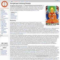 Tsongkhapa Lobzang Drakpa