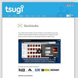 tsugi QuickAudio