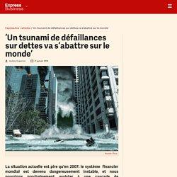 'Un tsunami de défaillances sur dettes va s'abattre sur le monde' - Express [FR]