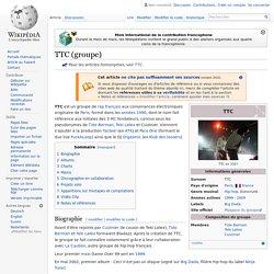TTC (groupe)
