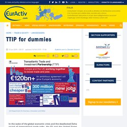 TTIP for dummies