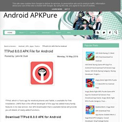 TTPod 8.0.0 APK File for Android