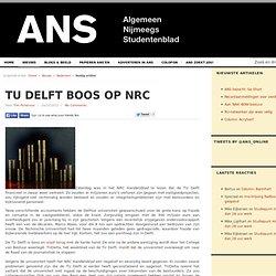 ANS: TU Delft boos op NRC