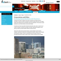 TU Delft - Corporations and Cities