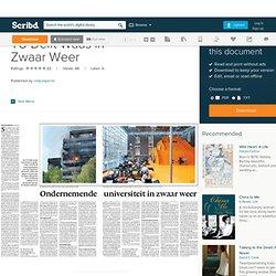 scribd: NRC TU Delft in Zwaar Weer