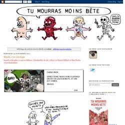 [BD] Marion Montaigne sur les robots - humour et pédagogie