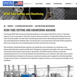 Tube Cutting and Chamfering