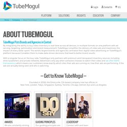 What is TubeMogul?