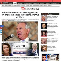 Tuberville: Democrats Wasting Millions on Impeachment as 'Americans Are Out of Work'