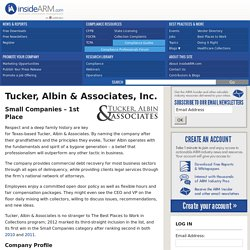 Tucker & Albin Debt Collection Agency