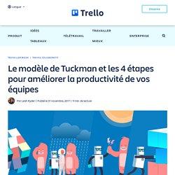 Le modèle de Tuckman et les 4 étapes pour améliorer la productivité de vos équipes
