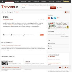 Tucul nell'Enciclopedia Treccani - Cyberfox