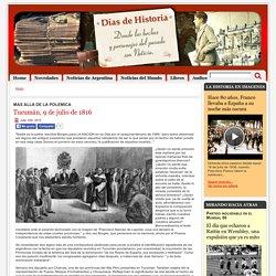 Tucumán, 9 de julio de 1816