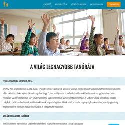 Tudnivalók, Ismertető - A Világ Legnagyobb Tanórája - PontVelem Okos Program