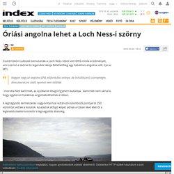 Tech-Tudomány - Óriási angolna lehet a Loch Ness-i szörny