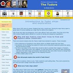 Tudor Ships and Exploration