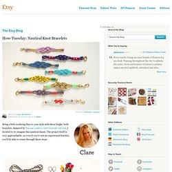 Nautical Knot Bracelets