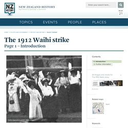 NZHistory, New Zealand history online